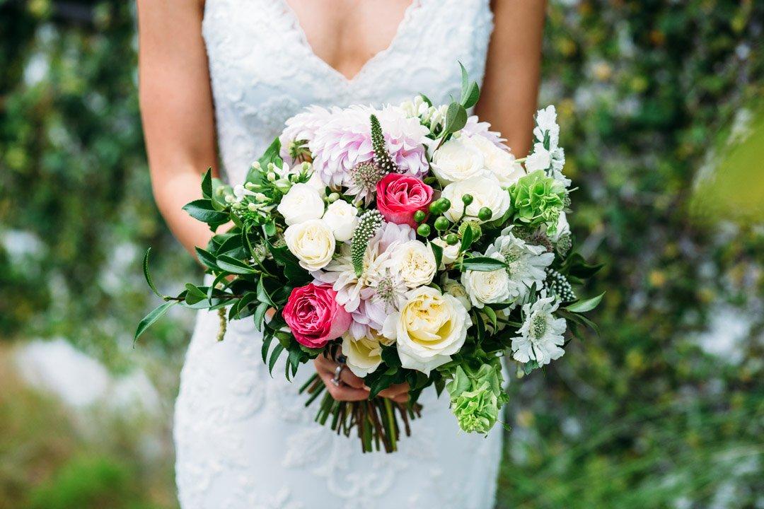 Wedding bouquet by Stem Design at Lightspace wedding
